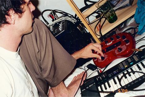 Walter Schreifels with Pod