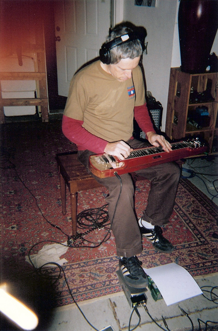 Don Piper on slide guitar