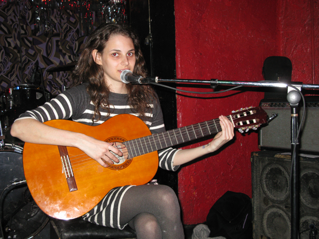 Rebecca Schiffman performing at Lit Lounge, New York, NY