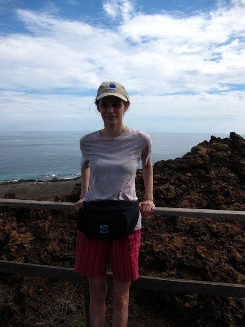 Rebecca Schiffman in Galapagos Islands