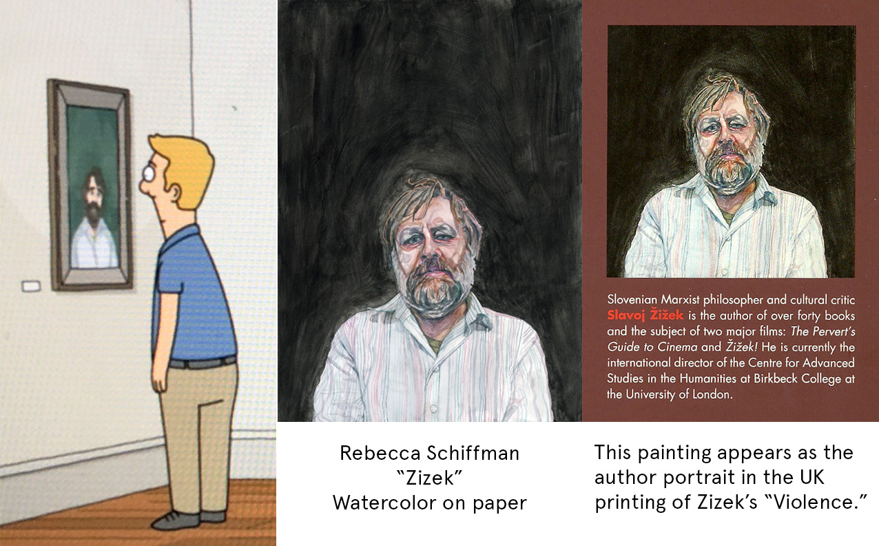 RebeccaSchiffman_Zizek_BobsBurgers_Collage