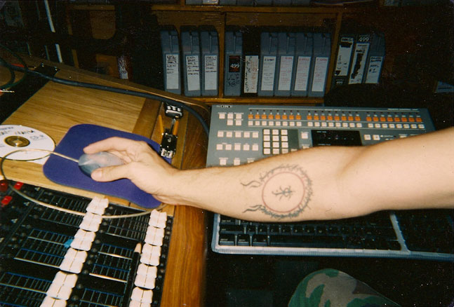 Andy's J.R.R. Tolkien Tattoo