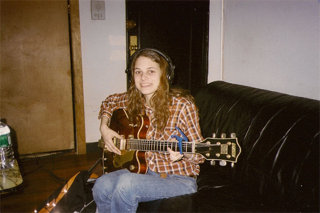 Rebecca Schiffman and guitar