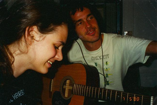 Rebecca Schiffman and Walter Schreifels